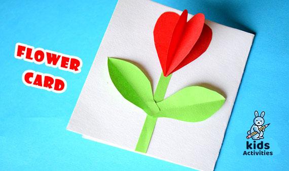 Make Gift Easy paper flower card