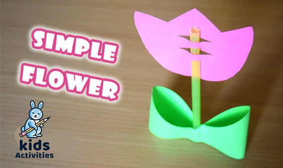 easy Paper Tulips craft
