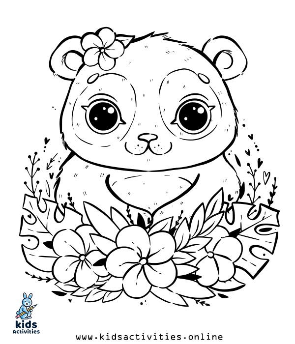 Free printable spring coloring books for preschool