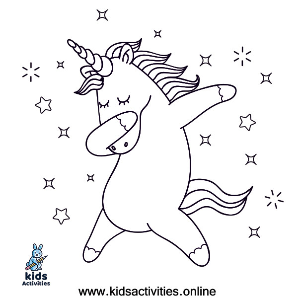 Best Free coloring pages for unicorns
