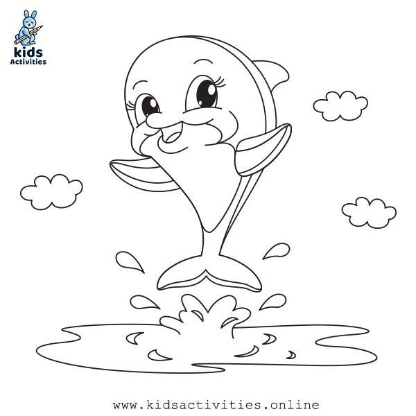 Printable Sea Animals Coloring Pages Online