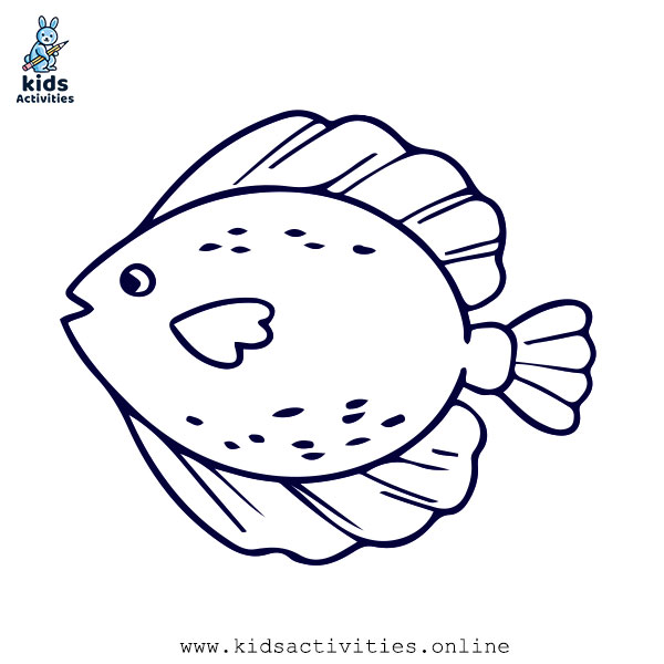 Sea Animal coloring page
