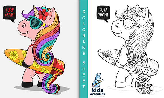 Free !- Unicorn Coloring Pages For Adults