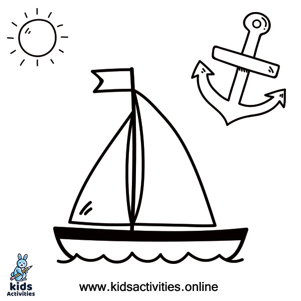 Free Printable Coloring Pages Of Summer ⋆ Kids Activities