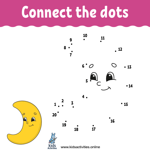 Best Connect The Dots Printable Preschool