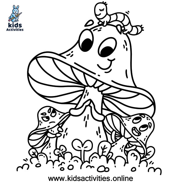 Doodle free coloring page of summer