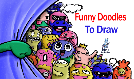 Funny Doodles To Draw - Doodle Art