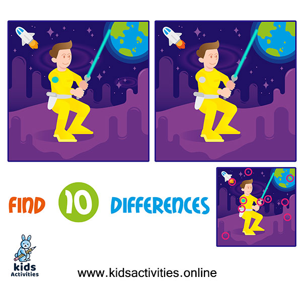 Games spot the differences