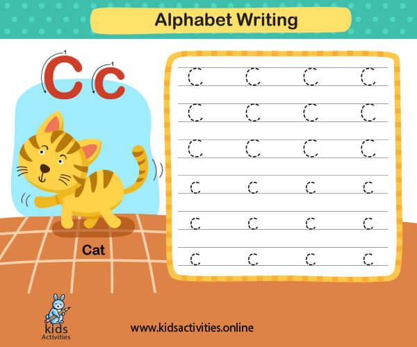 Letters worksheets printable - Kindergarten worksheet writing