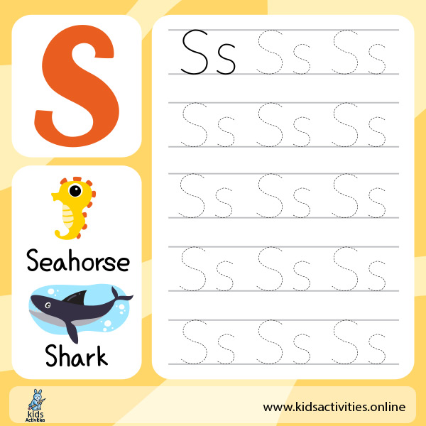 Tracing letters worksheets pdf