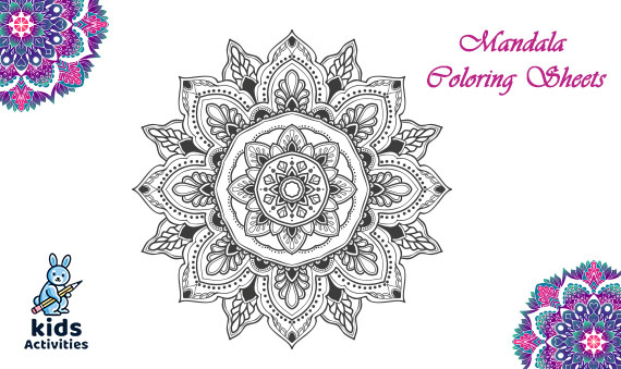 Mandala Coloring Sheets For Adults