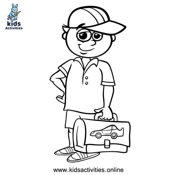 Free Printable Colouring Pictures For Boys