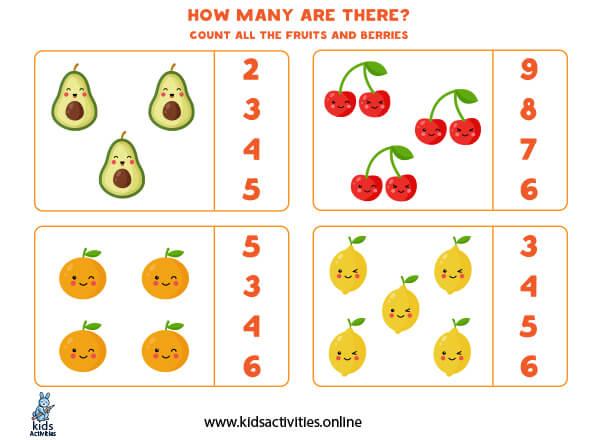 Math games for kindergarteners
