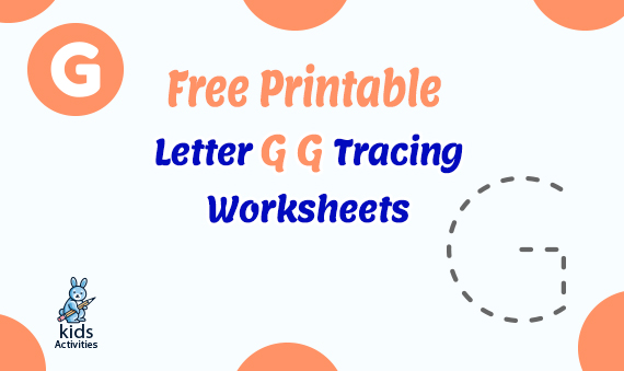 Free Printable Letter G g Tracing Worksheets
