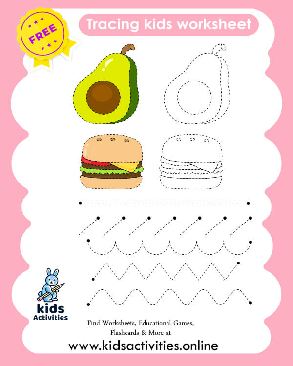 Free Printable Pre K Writing Worksheets
