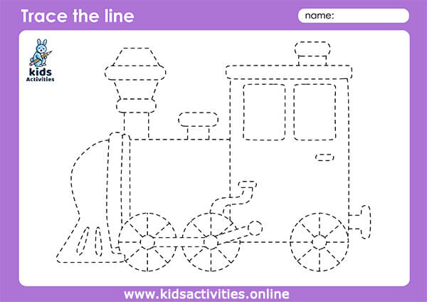 types transportation worksheets