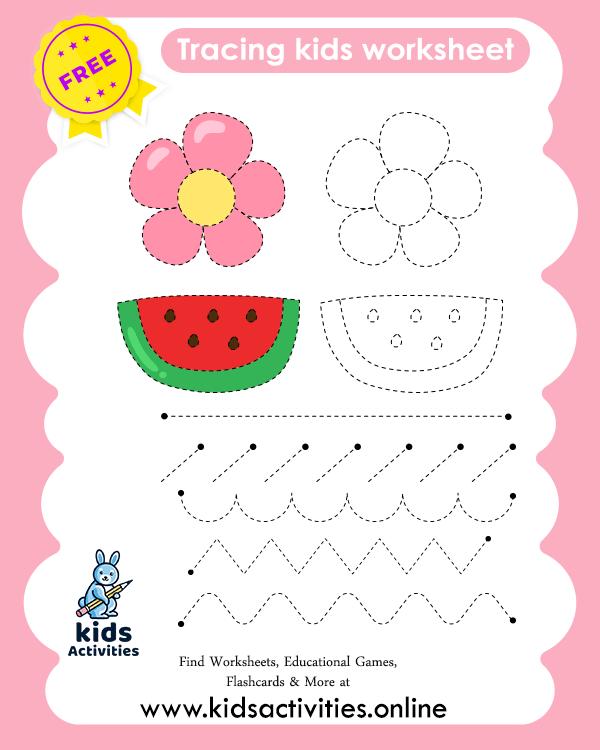 Pre-Writing Worksheets For Preschool