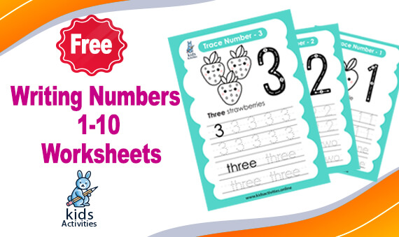 writing numbers in words 1-10