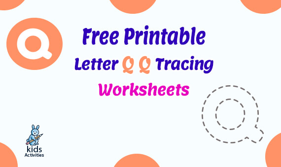 Free letter q tracing worksheets