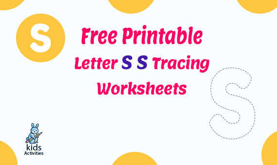 Free letter s tracing worksheets