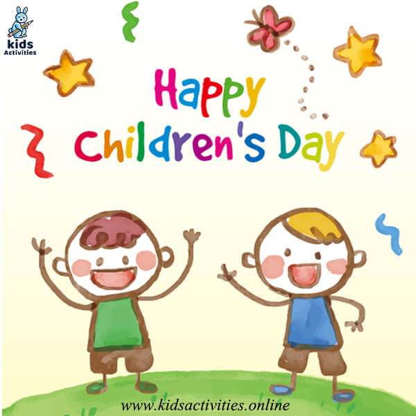children's day easy doodle drawing