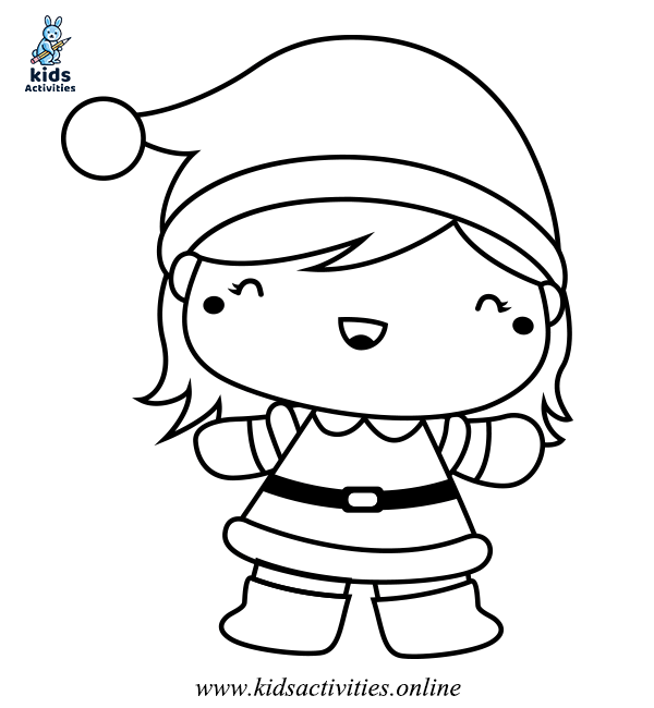 Coloring pages of winter for kinder