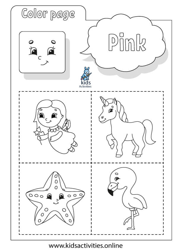 color worksheets for preschool and kindergarten free