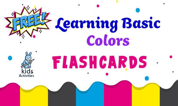 free basic learning flashcards printable