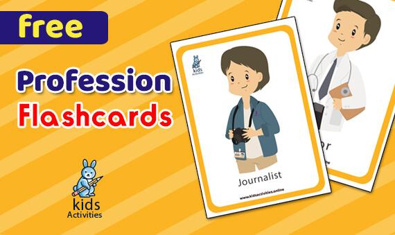 occupation flashcards for kindergarten