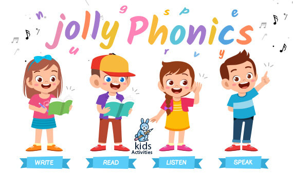 what is jolly phonics