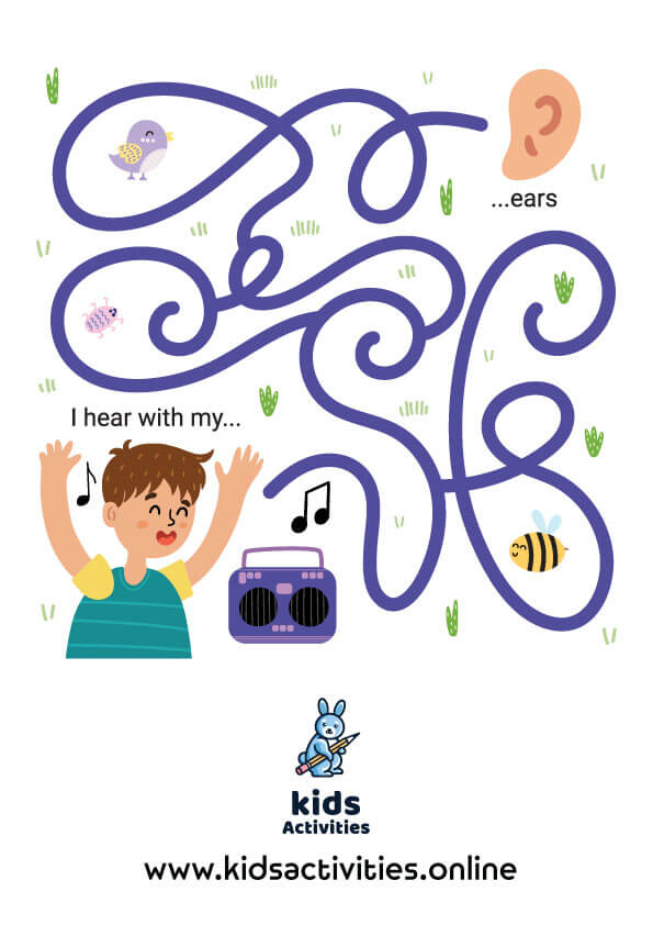 Free printable Mazes For Preschoolers