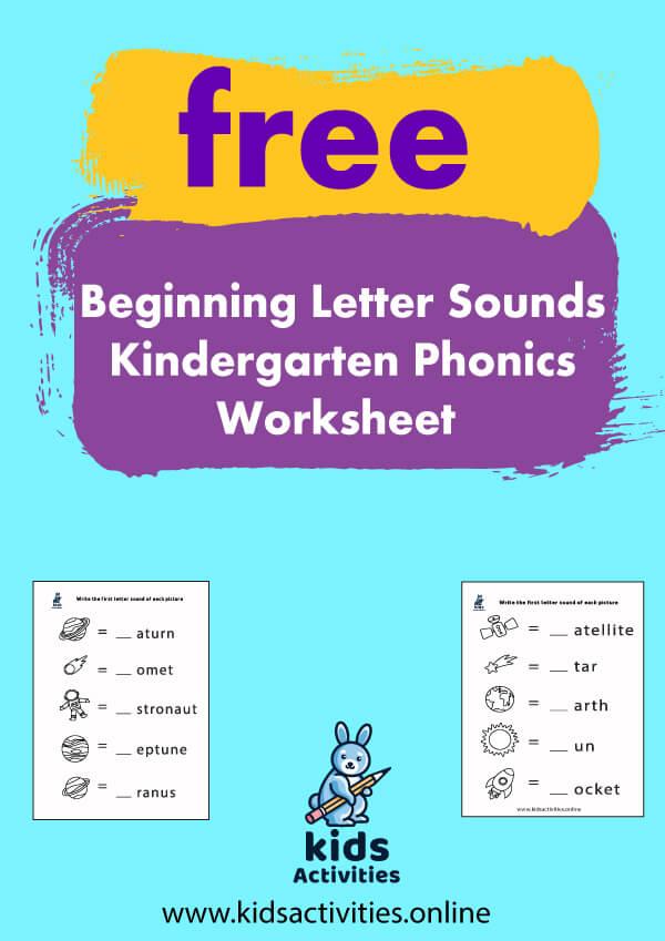 phonics worksheets free