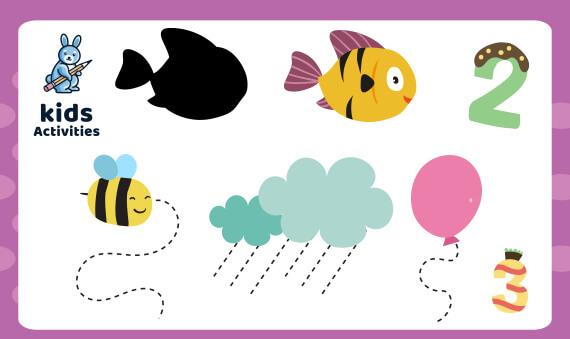Free Printable Preschool Worksheets Age 3-4 PDF