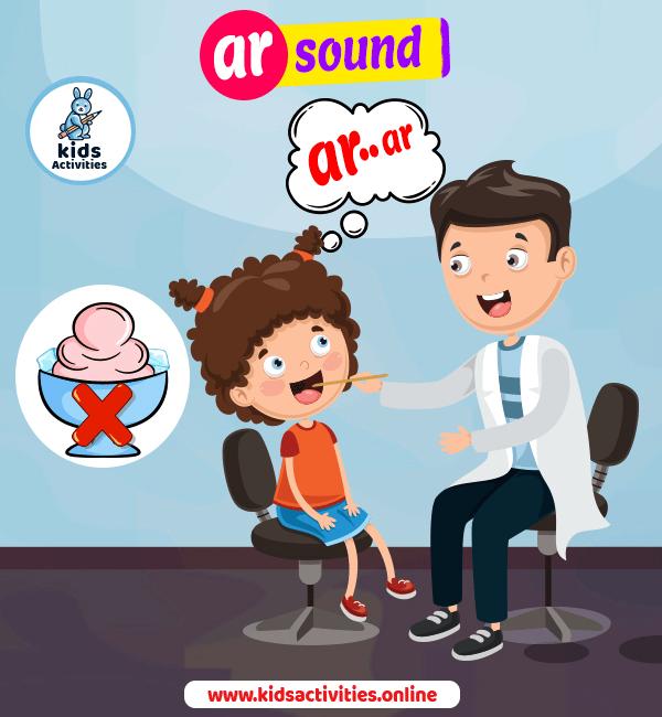 ar sound jolly phonics