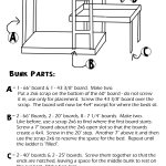 Build A Bed Free Plans For Triple Bunk Beds