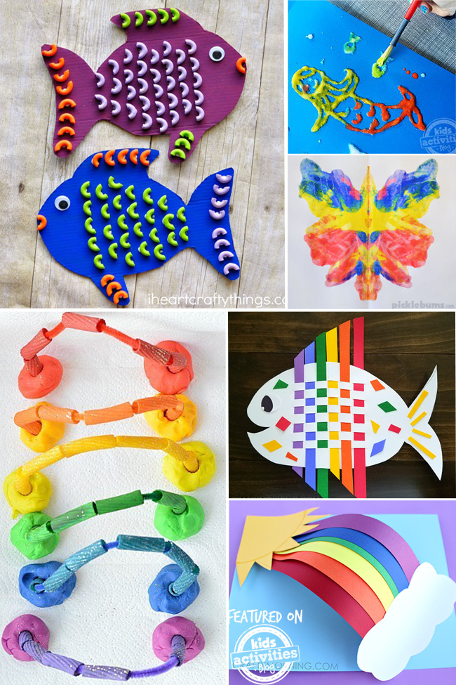 25 Colorful Kids Craft Ideas