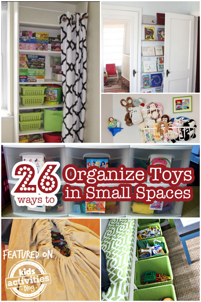 pics Bedroom Toy Storage Ideas 26 ways to organize toys in small spaces