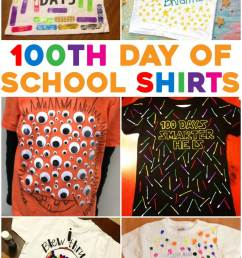 Super Easy 100th Day of School Shirt Ideas 2021 (yes 2021!)  Kids  Activities Blog [ 2364 x 1368 Pixel ]