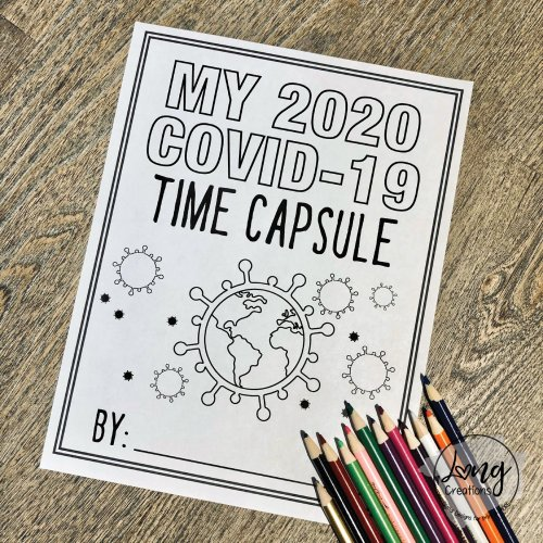 small resolution of Quarantine Time Capsule Idea for Kids -- Printable Worksheets!