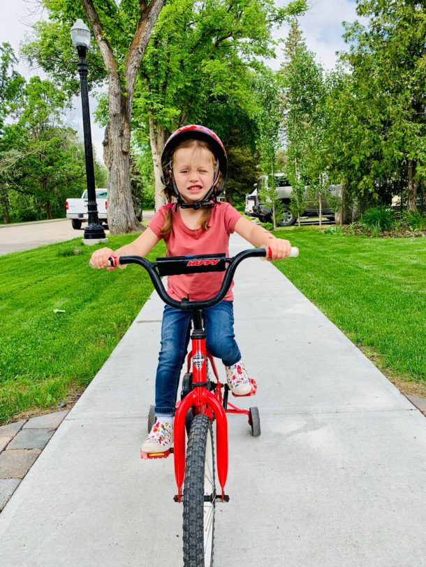 Kid To Ride A Bike Without Training Wheels