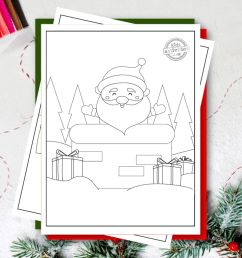 Here are the Best Free Easy Christmas Coloring Pages For Toddlers [ 1024 x 1024 Pixel ]