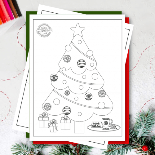 small resolution of Download These Free Christmas Tree Coloring Pages   Kids Activities Blog