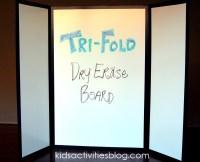 DIY Folding White Board