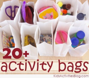 activity bags with number 300x262 More Christmas Fun!
