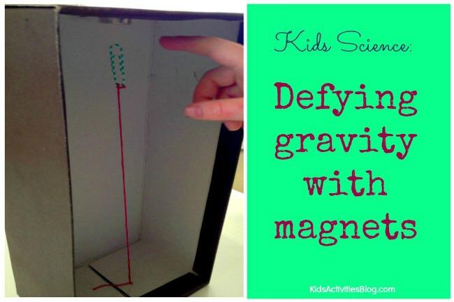 Kids Science: Defying Gravity {Cool Gravity Trick}
