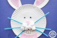 bunny paper plate craft - 28 images - paper plate bunnies ...