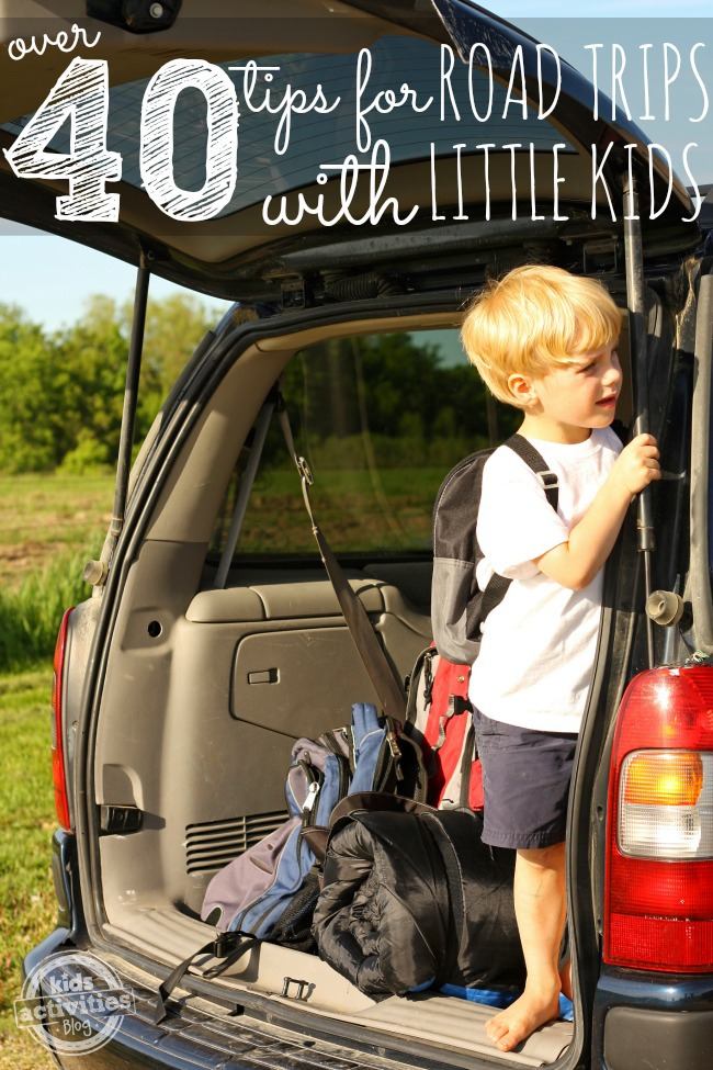 40+ Tips for Road Trips with Toddlers & Preschoolers