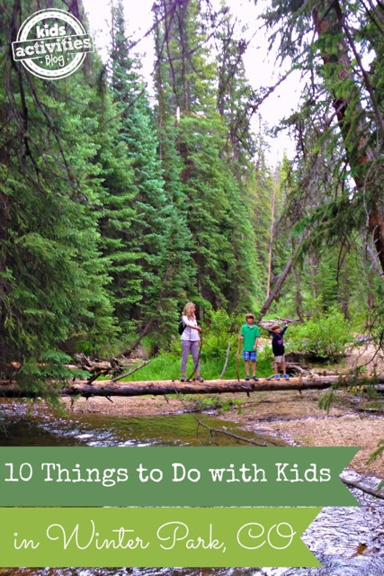 10 Things To Do With Kids In Winter Park CO
