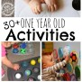 30 Busy 1 Year Old Activities