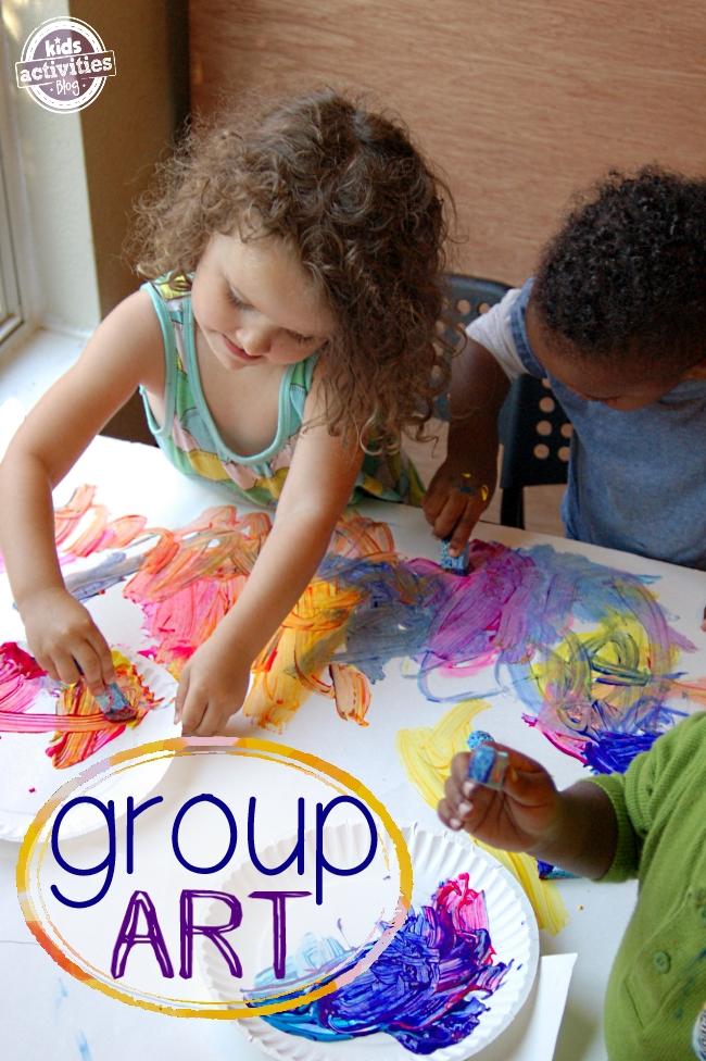 10 Tips For Group Art